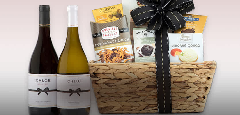 Just In Time For The Holidays Give A Wine Gift Basket