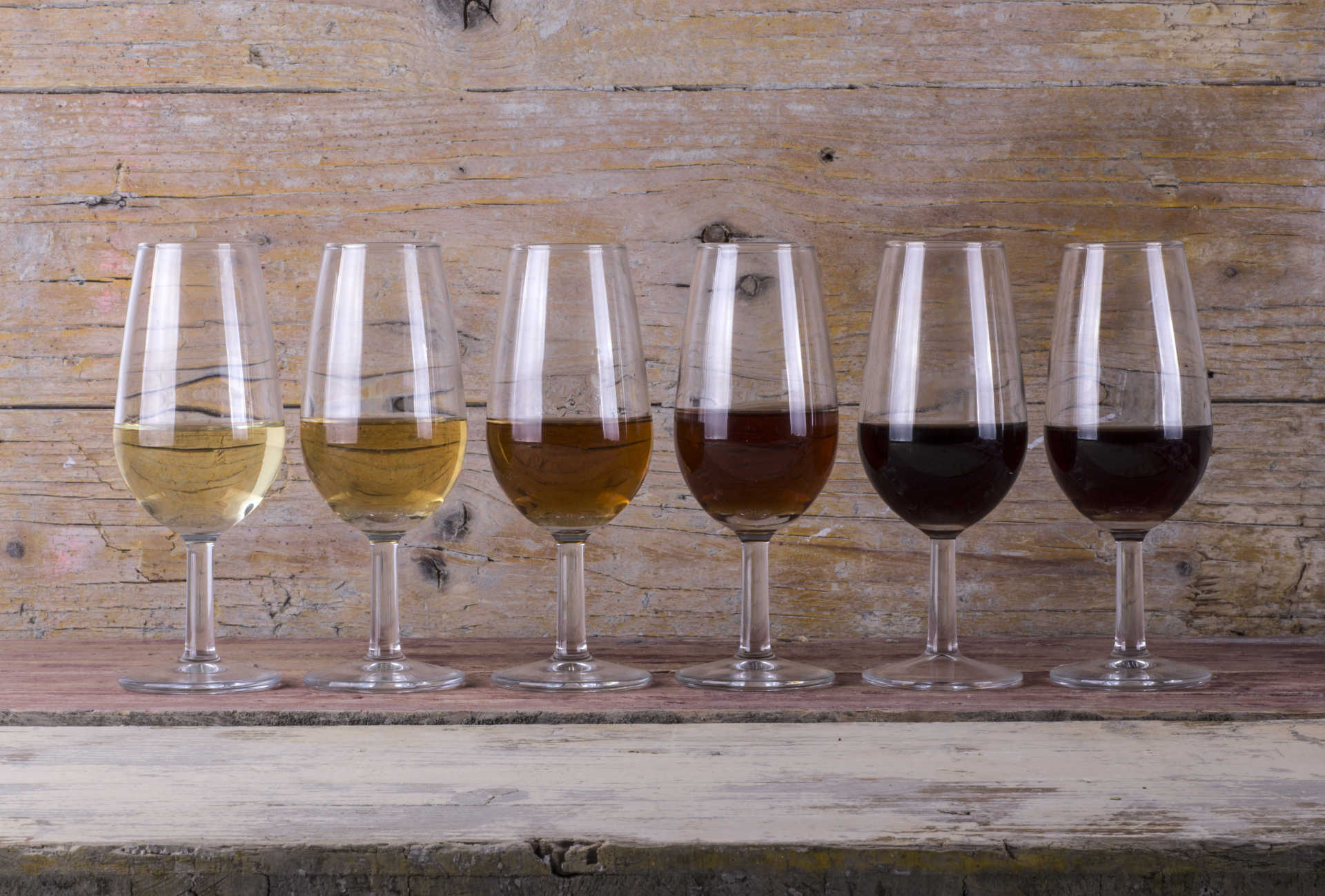 The Seven Types of Sherry Wine - What to Know banner image