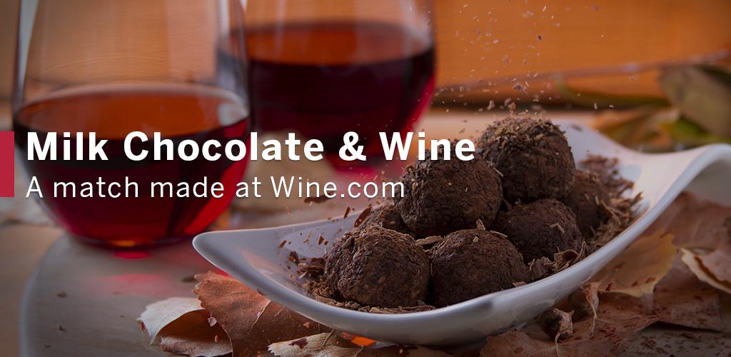 Image of Milk Chocolate and Wine Pairing