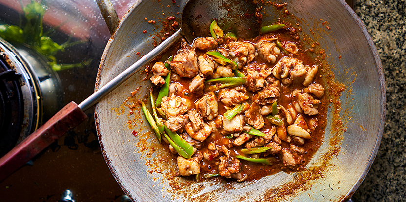 Pinot Noir and Chicken Dish - Best Thai Food Wine Pairing