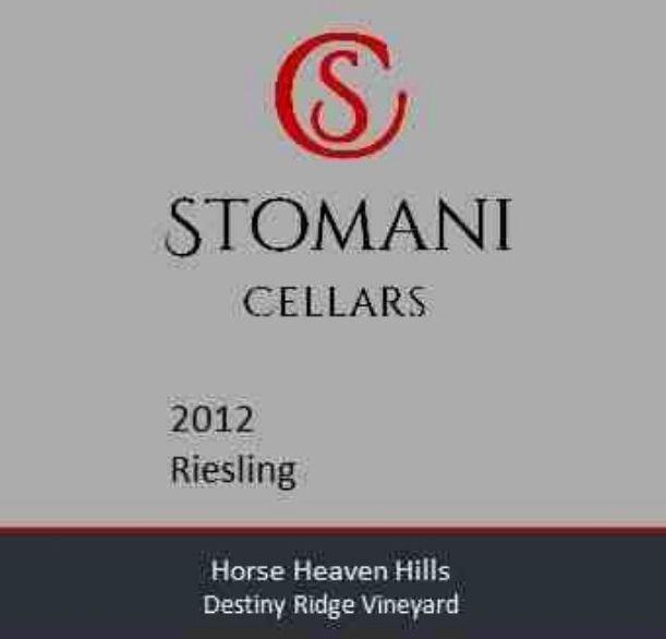 Flat front label of wine. Stomani Cellars Reisling 2012  sc 1 st  Wine.com & Shop Stomani Cellars Wine | Wine.com