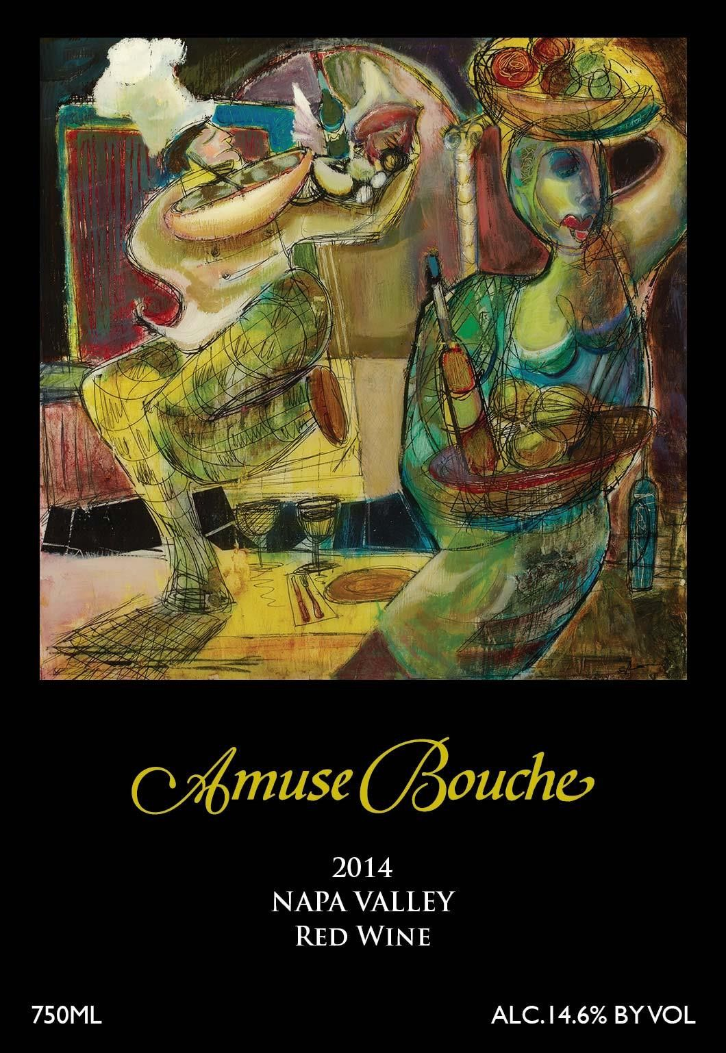Amuse Bouche Proprietary Red 2014 Front Label