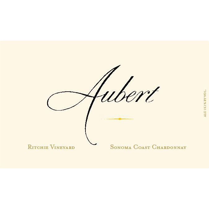 Aubert Ritchie Vineyard Chardonnay 2007 Front Label