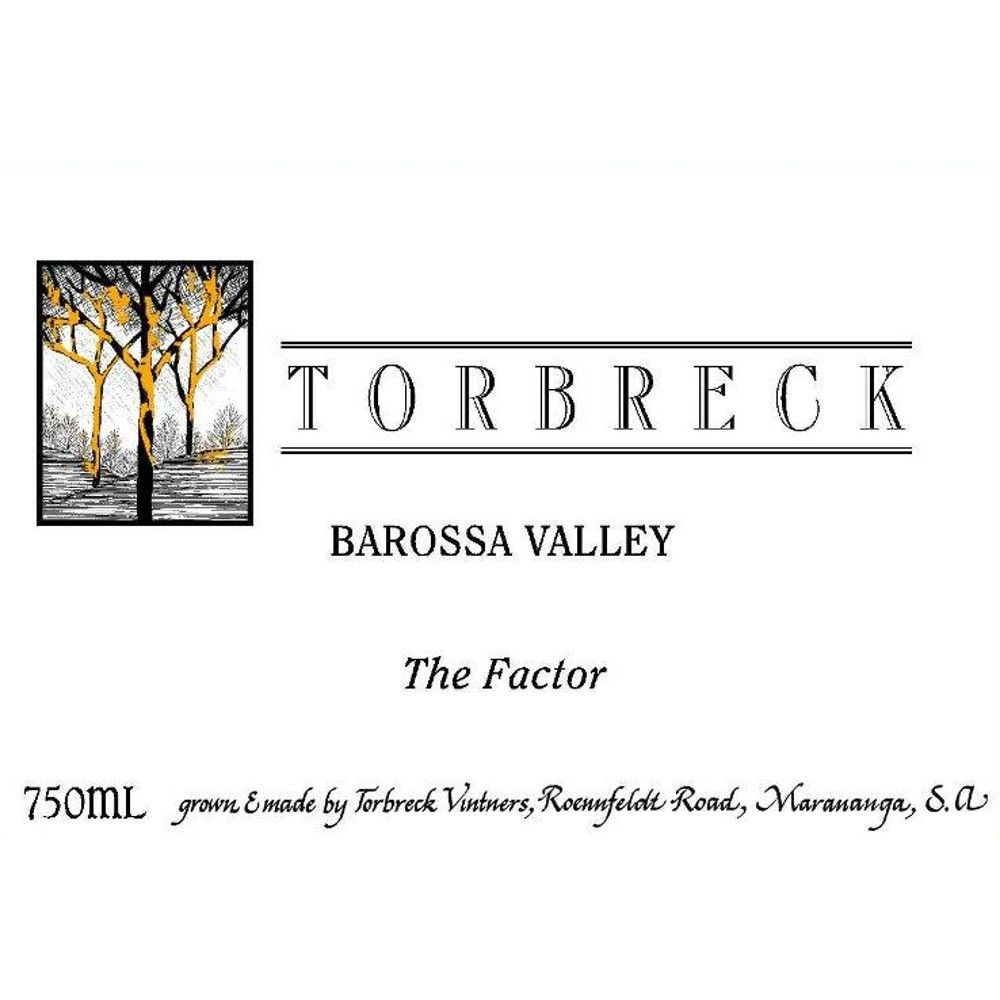 Torbreck The Factor Shiraz 2006 Front Label