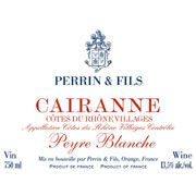 Famille Perrin Cairanne Peyre Blanche 2007 Front Label
