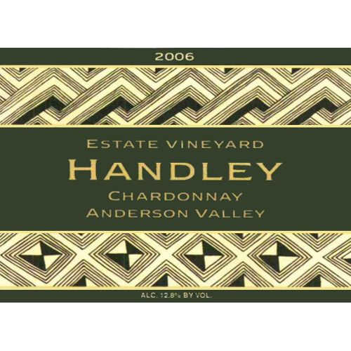 Handley Anderson Valley Chardonnay 2006 Front Label
