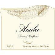 Anaba Coriol Red 2006 Front Label