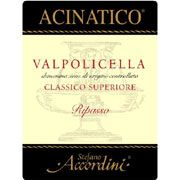 Stefano Accordini Acinatico 2006 Front Label