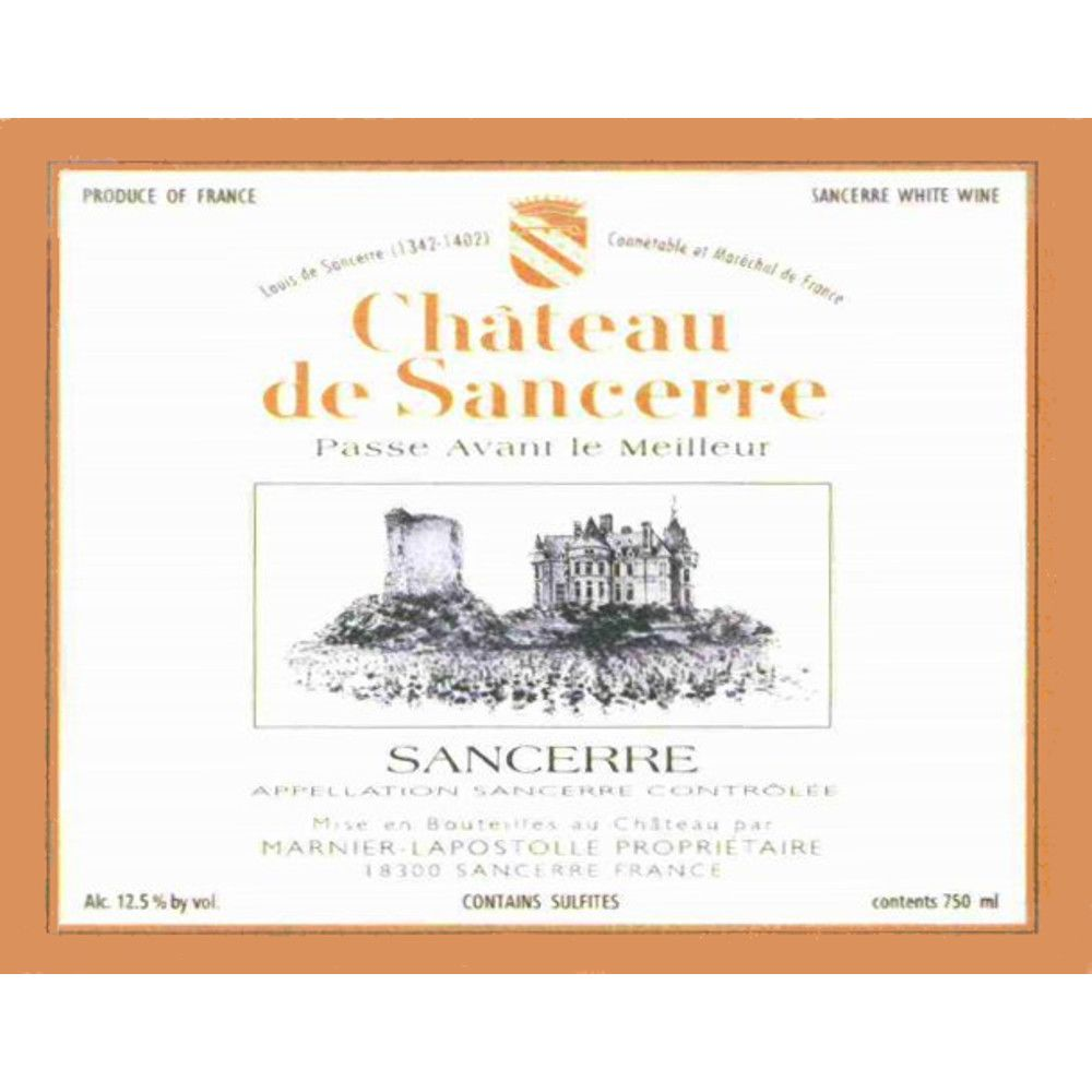 Chateau de Sancerre Blanc 2008 Front Label
