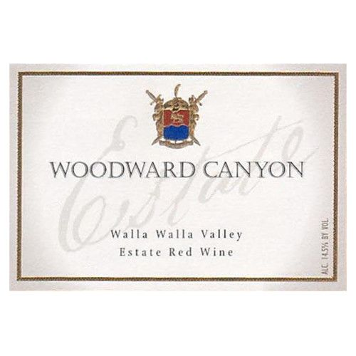 Woodward Canyon Estate Red 2006 Front Label