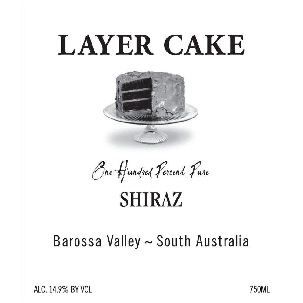 Layer Cake Shiraz 2008 Front Label
