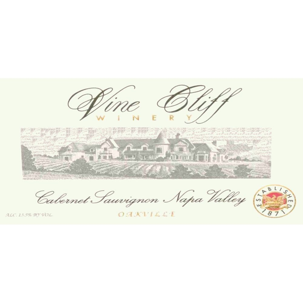Vine Cliff Oakville Estate Cabernet Sauvignon 2006 Front Label