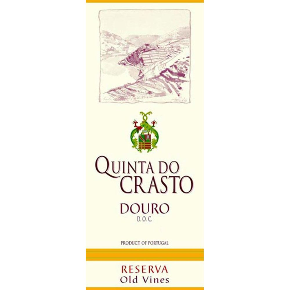 Quinta do Crasto Douro Red Reserva Old Vines 2007 Front Label