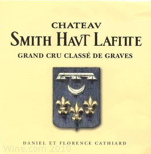 Chateau Smith Haut Lafitte Blanc 2004 Front Label