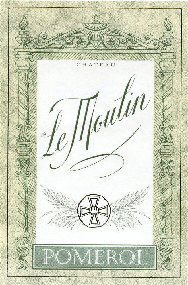 Chateau Le Moulin  2004 Front Label