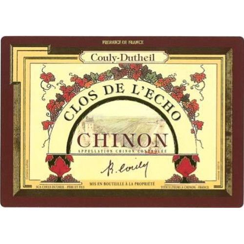 Couly-Dutheil Clos l'Echo Chinon 2005 Front Label