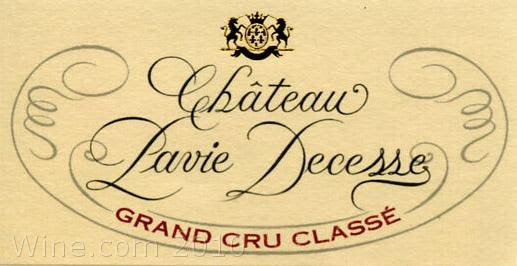 Chateau Pavie Decesse  2004 Front Label