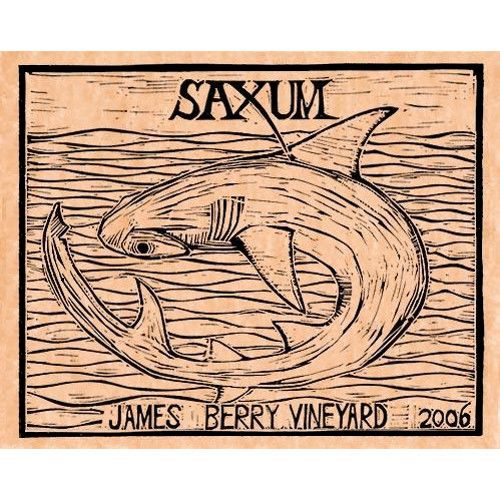 Saxum James Berry Vineyard 2006 Front Label