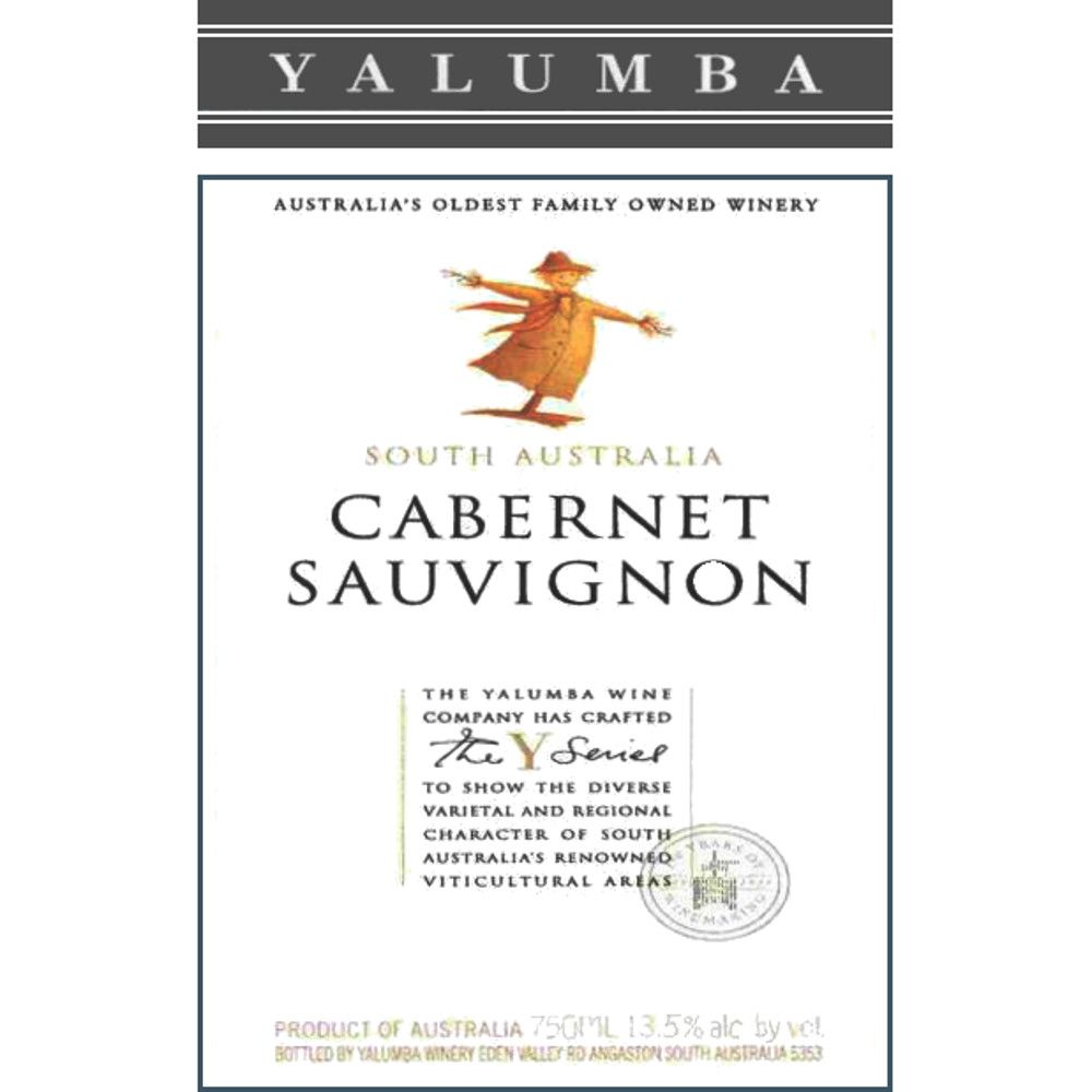 Yalumba Y Series Cabernet Sauvignon 2005 Front Label
