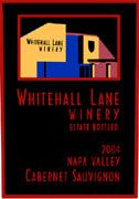 Whitehall Lane Cabernet Sauvignon (half-bottle) 2004 Front Label