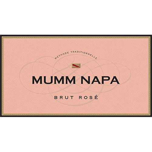 Mumm Napa Brut Rose Front Label