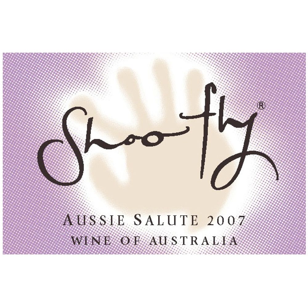 Shoofly Aussie Salute 2007 Front Label
