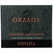 Odfjell Orzada Cabernet Sauvignon 2006 Front Label