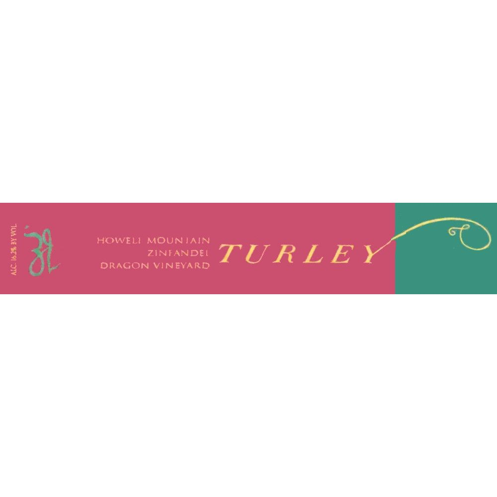 Turley Dragon Zinfandel 2007 Front Label