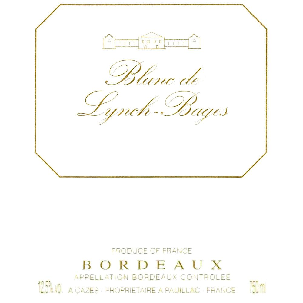 Chateau Lynch-Bages Blanc de Lynch-Bages 2006 Front Label
