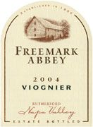 Freemark Abbey Viognier 2004 Front Label