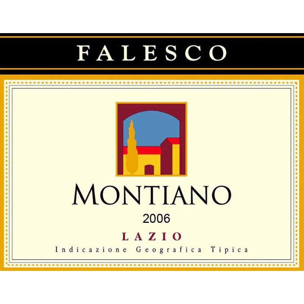 Falesco Montiano 2006 Front Label