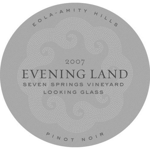 Evening Land Eola-Amity Hills Seven Springs Vineyard Pinot Noir 2007 Front Label