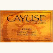Cayuse Cailloux Syrah 2006 Front Label