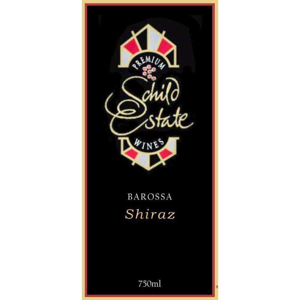 Schild Estate Shiraz 2007 Front Label