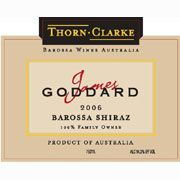 Thorn-Clarke Shiraz Barossa James Goddard 2006 Front Label