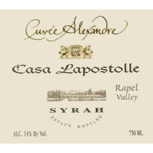 Lapostolle Cuvee Alexandre Syrah 2006 Front Label