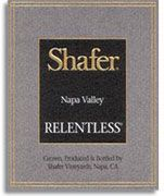 Shafer Relentless 2006 Front Label