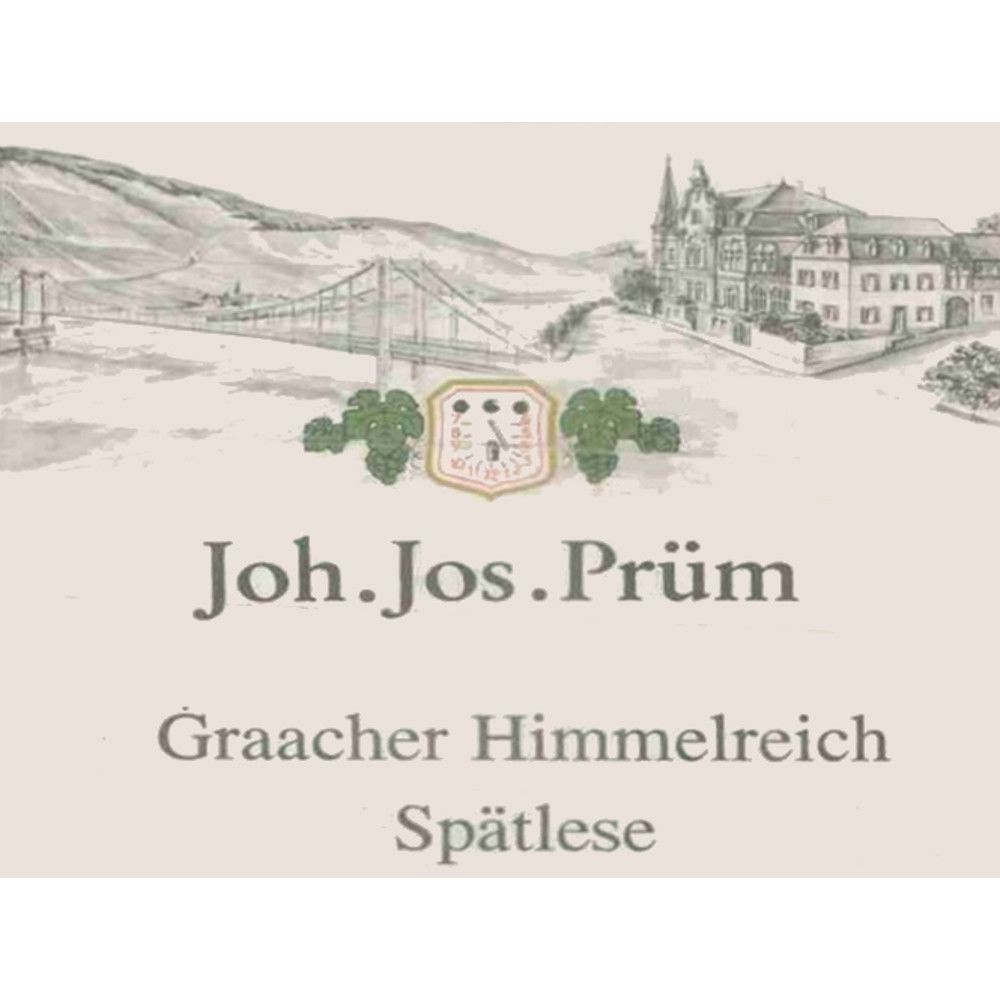 J.J. Prum Graacher Himmelreich Spatlese Riesling 2008 Front Label