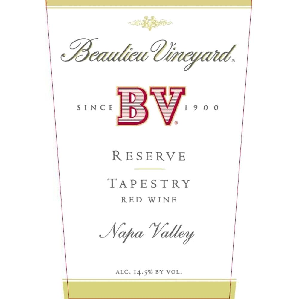 Beaulieu Vineyard Reserve Tapestry 2006 Front Label