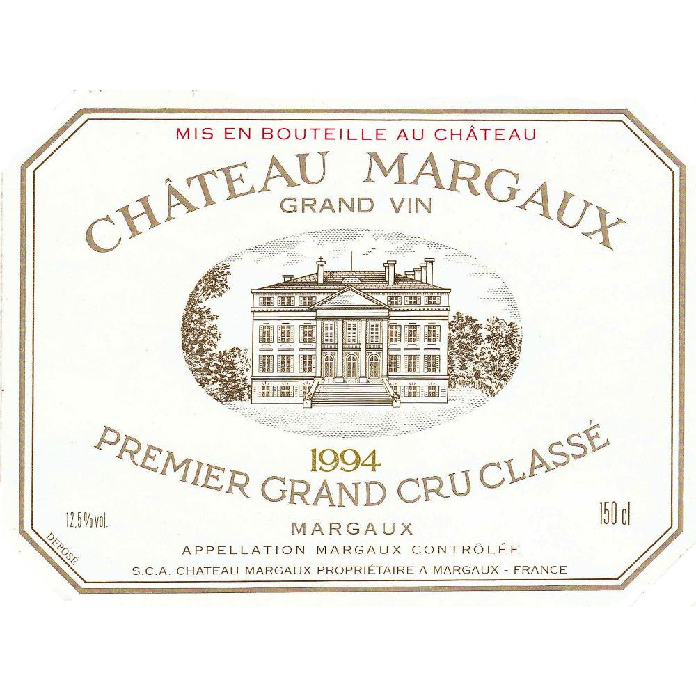 Chateau Margaux  1994 Front Label