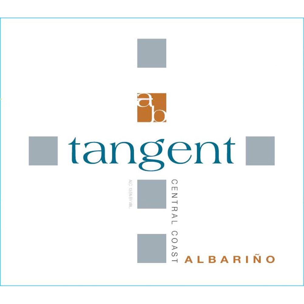Tangent Edna Valley Albarino 2008 Front Label