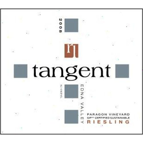 Tangent Paragon Vineyard Riesling 2008 Front Label