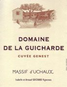Domaine de la Guicharde Cotes du Rhone Villages Massif d'Uchaux 2007 Front Label