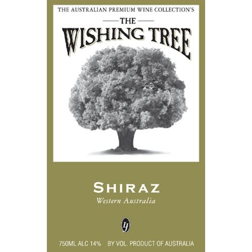 Wishing Tree Shiraz 2007 Front Label