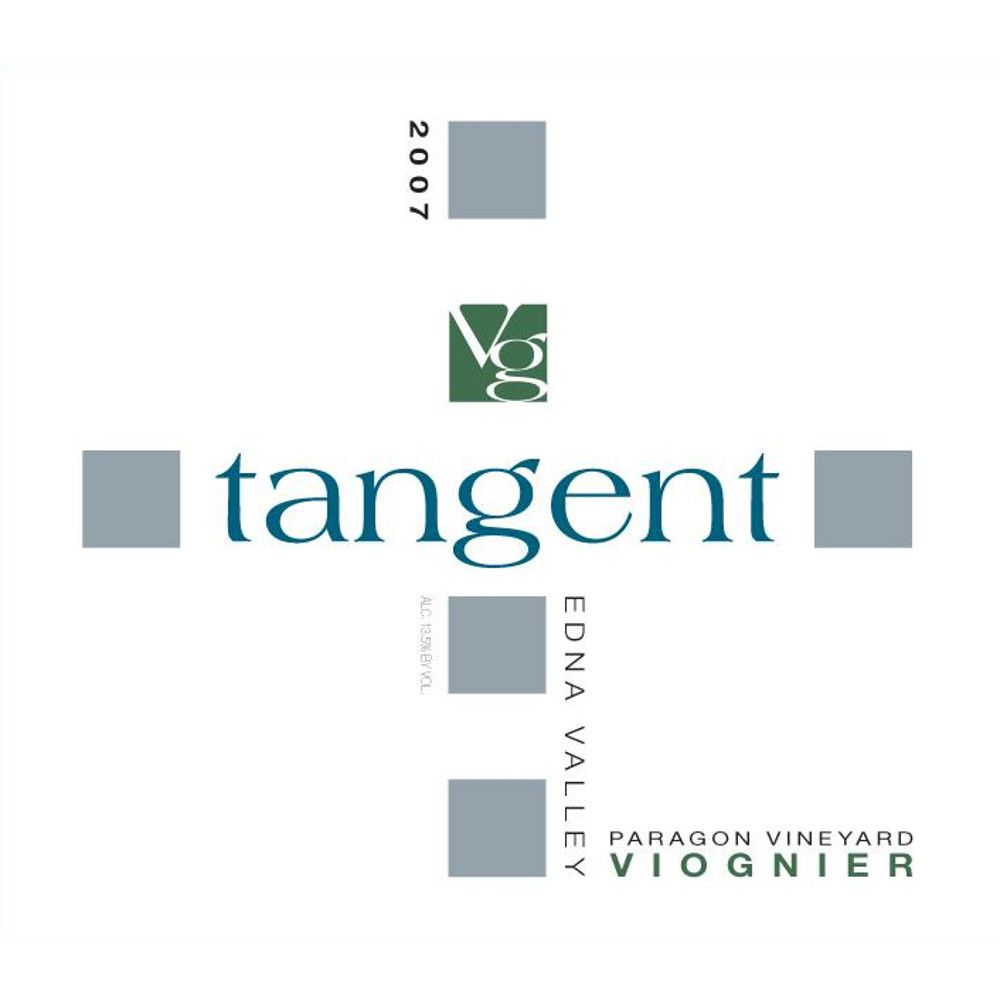 Tangent Edna Valley Viognier 2007 Front Label