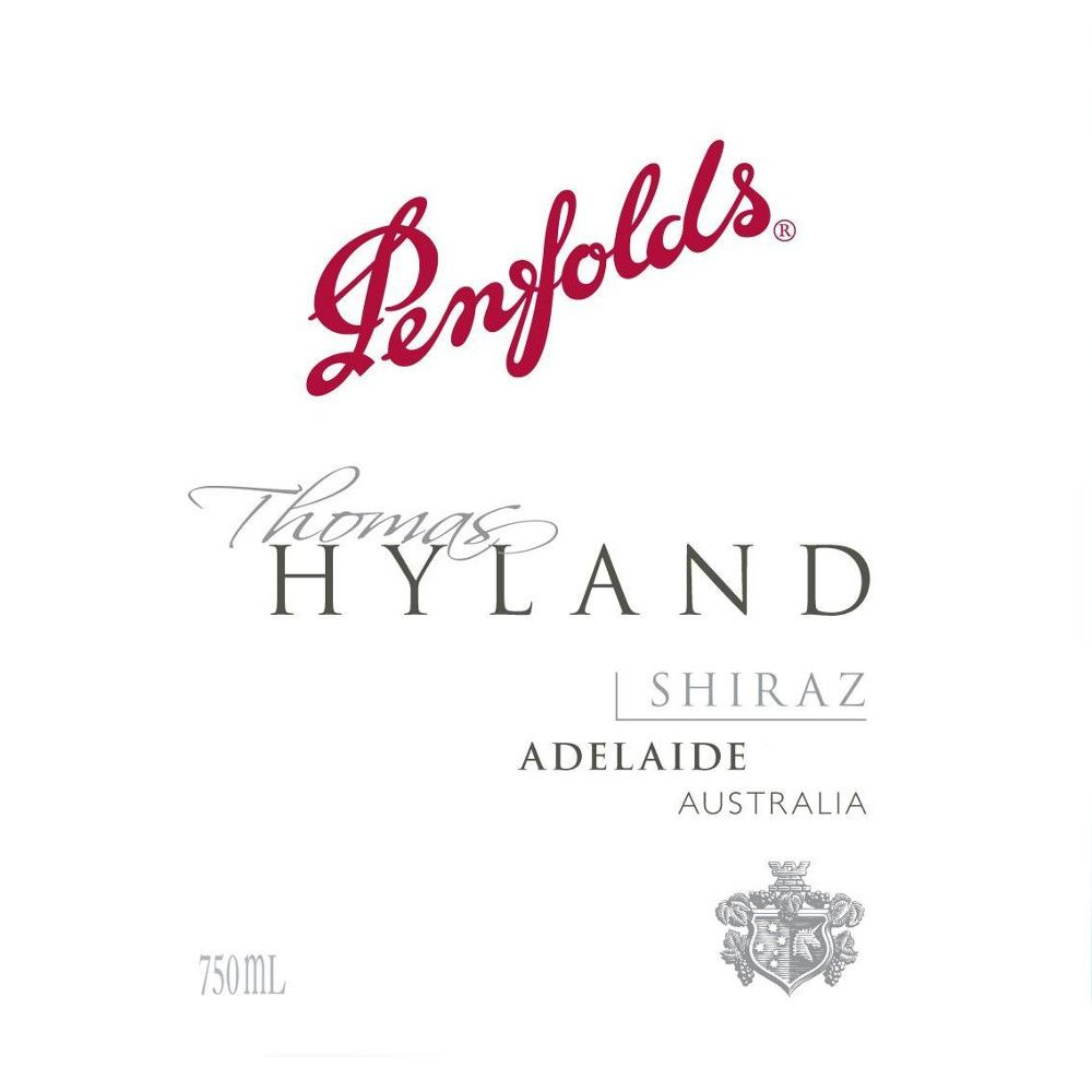 Penfolds Thomas Hyland Shiraz 2007 Front Label