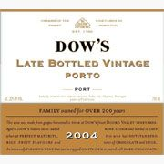 Dow's Late Bottled Vintage 2004 Front Label