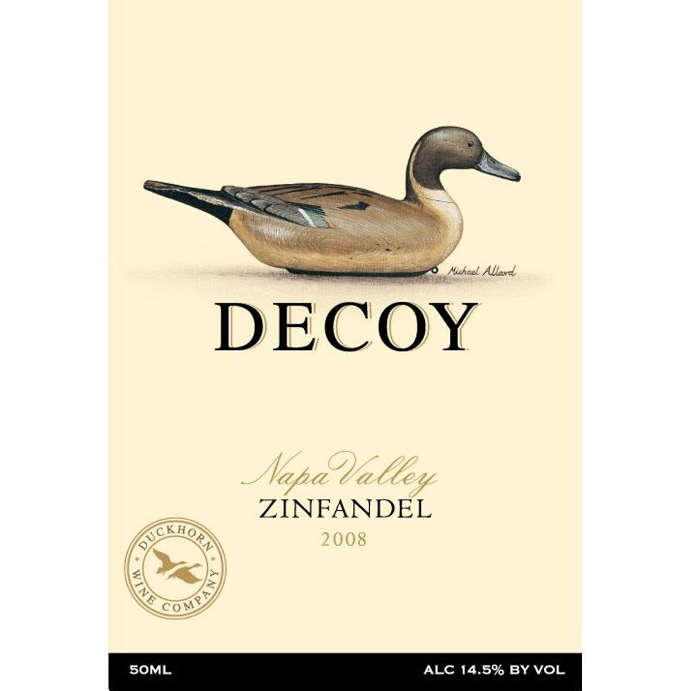 Decoy Zinfandel 2008 Front Label