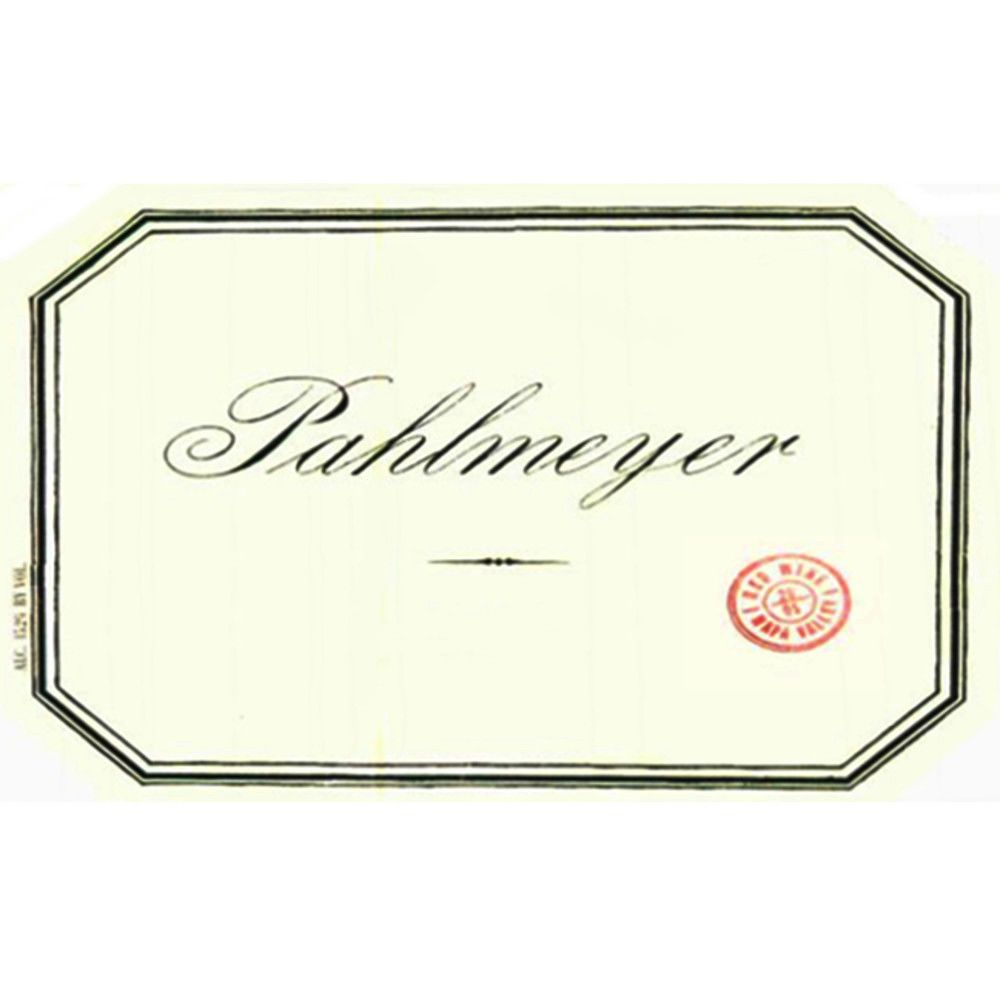 Pahlmeyer Napa Valley Proprietary Red 2006 Front Label