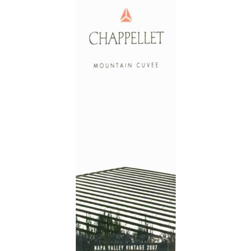 Chappellet Mountain Cuvee 2007 Front Label